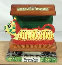 Schmid Ceramic The Dragon Bookend (Only) From Thomas The Train Tank Engine Percy