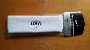Vintage NIKE Team USA Olympic Headband NEW