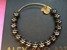 RARE NEW ALEX and ANI  ASSORTED Flower VINTAGE BEADED SINGLES Bangle BRACELET 💎