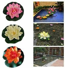 Artificial Lotus for Home Garden Wedding Party Decoration Water Lily 6 Colors