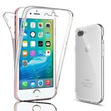 Front and Back Clear Full Protection Gel Cover Skin Case For iPhone 8 / 8 Plus