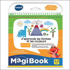 Livre interactif Magibook Vtech - J'apprends les formes et les couleurs