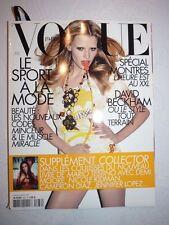 Magazine VOGUE PARIS mode French #876 avril 2007 le sport à la mode
