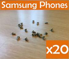 20 x OEM Screws Housing Set Samsung Galaxy Note 2 3 4 5 Mini S2 S3 S4 S6 Neo /UK