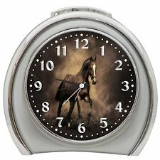 Majestic Horse Alarm Clock Night Light Travel Table Desk