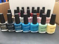 Cnd Vinylux Nail Polish 15ml X 20 Colours Joblots