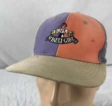 Vtg St Pauli Girl Beer Hat Snapback Cap Rainbow Pinwheel Distressed Sun  Faded 54d1054c1fe2