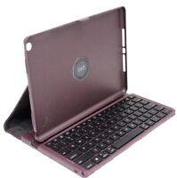 Genuine Targus Versavu Keyboard Case for iPad Air - Black Cherry (THZ19201AU)