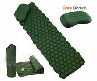 Ryno Tuff Ultralight Sleeping Pad Set - Large Wide Tough Waterproof Durable