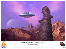"Lost In Space - ""Impact on the Lost Planet"" Print - Ron Gross"
