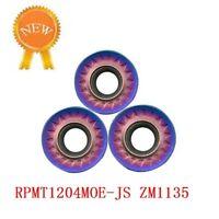 RPMT1204MOE-JS ZM1135cnc lathe Milling insert cutting tool carbide turning blade