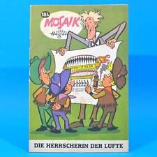 Mosaik 184 Digedags Hannes Hegen Originalheft   DDR   Sammlung original MZ 11