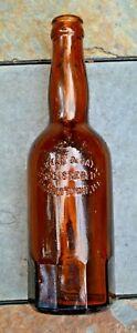 HARMAN & PAYNE REGISTERED HAGERSTOWN, MD. Blown Crown Top Beer w/Mug Base