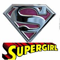 Superman Belt Buckle Unisex Dc Comics Usa American Superhero Pink Metal Western
