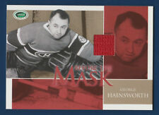 GEORGE HAINSWORTH 03-04 PARKHURST ROOKIE BEFORE THE MASK 03-04 JERSEY GOLD 16435