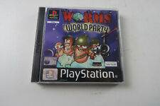 Worms World Party A Game for the Playstation 1 ps1 VGC