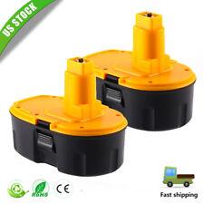 2x For Dewalt DC9096 18V NiCD XRP Battery DE9095 DW9098 DC9099 18Volt Power Tool
