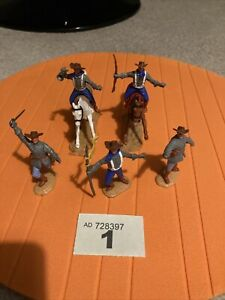 Timpo Confederate Cavalry Soldiers
