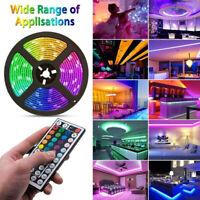 LED Light Strip 5050 Tape Lights LED Strip Lights with Remote for Home Lighti DD