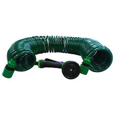50Ft Garden Hose Expanding Water Coil Flexible Expandable Retractable Shrinking