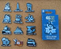 65 Years of Magic Complete Mystery Pin Set 2020 Disneyland 65th Anniversary LR