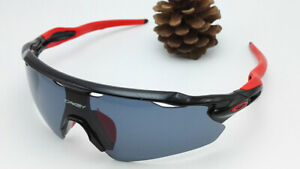 Oakley Sunglasses OO915GRAY-BLACK-RED 170/150/40 mm