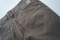 Double Saddle Stitched JOKER Clark Herren Hose Jeans 34/32 W34 L32 Braun TOP AB2