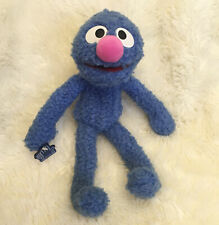 "Vintage Applause Grover Plush 12"" Blue Sesame Street 1997 Poseable Stuffed Toy"