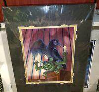 Disney Parks Haunted Mansion 50th Questionable Friends Gargoyle Print Nikolai