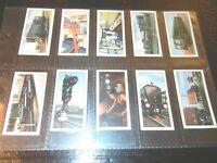 1958 Barbers Tea RAILWAY EQUIPMENT trains history complete trade  card set 24