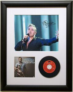 Morrissey / Signed Photo / Autograph / Framed / COA