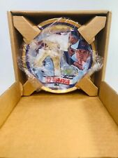 Nolan Ryan 27 Seasons Gold Rimmed Collectible Plate by Sports Impressions