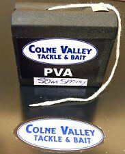 Fishing pva string 50m Dispenser Uk Made Quick Dissolve Strong Cv Tackle