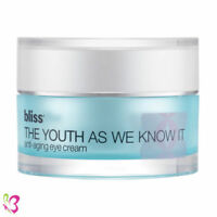 Bliss THE YOUTH AS WE KNOW IT Anti Aging Eye Cream .5oz NoBox SEALED