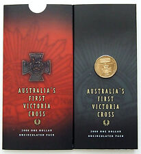 2000 Australia - Victoria Cross $1 Coin - as issued -  Catalogue Value $250