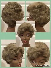 """Paula Young Wig #A1142 Size PETITE Color# 18/22 """"Warm Toffee"""" Curly (G-1142)"""