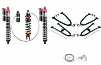 Honda TRX 250R Front and Rear Suspension Kit Lonestar +2 Elka Legacy