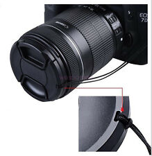 46mm Center Pinch Snap on Front Cap For Sony Canon Nikon Lens Filters wd