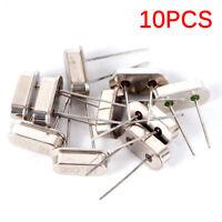10Pcs HC-49S 16M HZ 16.000MHz 16MHZ Inline Feet Passive Crystal Oscillator HF