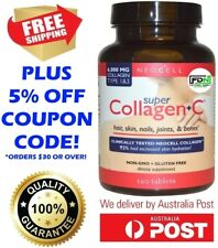 Neocell Super Collagen + C Type 1 & 3 6000 mg 120 Tablets Hair Skin Nails Bones