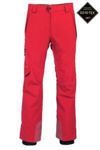 686 2020 GLCR GT GORE-TEX SNOWBOARD-SKI PANTS, RED, XL, NEW
