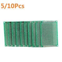 5/10Pcs DIY Breadboard Double Side DIY Prototype Circuit PCB Board 1.58'x2.36'