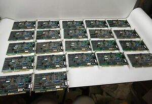 Lot of (22) Vintage Cabletron RJ-45 and AUI - 16 Bit ISA Network Interface Cards
