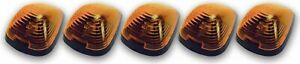 PACER PERFORMANCE Cab Roof Lights Amber 99-     Ford P/U Non LED P/N - 20-235