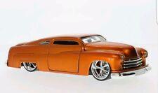 1:24 Jada DUB Old School 1951 Mercury Lowrider (Orange) New in Box