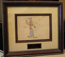 Disney Goofy Mickey's Amateurs Original Model Drawing