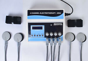 Prof. 4 Channel Electric Physical Therapy Digital Machine Fast Shipping By DHL