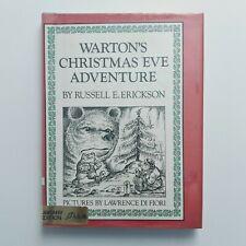 Kids Book Wartons Christmas Eve Adventure Russell Erickson Ex-Library Reader