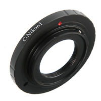 C-Mount Lens To Nikon 1 V1 V2 J1 J2 J3 J4 J5 S3 C-N1 Camera Mount Adapter Ring