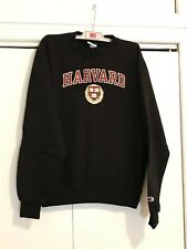 Harvard University Black Logo Sweatshirt